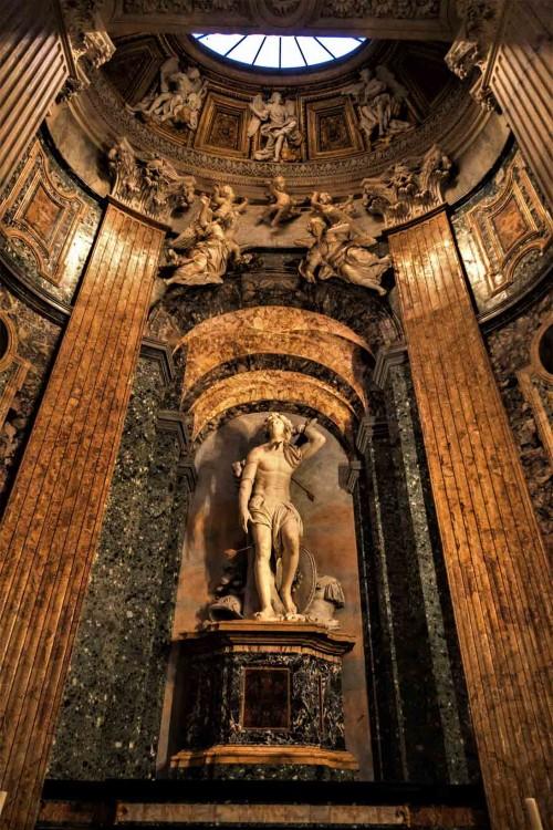 Sant'Agnese in Agone, ołtarz św. Sebastiana