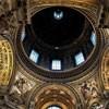 Sant'Agnese in Agone, malowidła w pendentywach - Czystość i Rozwaga (po lewej), Mądrość i Opatrzność (po prawej), Baciccio