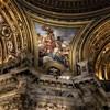 Sant'Agnese in Agone, malowidło w pendentywach Sprawiedliwość i Pokój, Baciccio