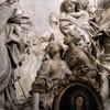 Sant'Agnese in Agone, ołtarz boczny, Śmierć św. Cecylii, fragment