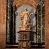 Sant'Agnese in Agone, ołtarz boczny - Św. Agnieszka w płomieniach, Ercole Ferrata