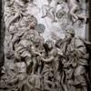Sant'Agnese in Agone, ołtarz główny - Dwie święte rodziny Chrystusa i św. Jana Chrzciciela, Domenico Guidi
