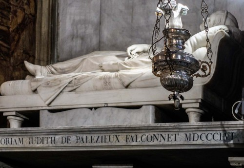 Sant'Andrea delle Fratte, kaplica San Francesco di Sales, pomnik nagrobny Judith Falconnet