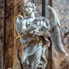 Basilica of Sant'Andrea delle Fratte, Angel with the Crown of Thorns, Gian Lorenzo Bernini