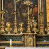 Sant'Andrea delle Fratte, fragment ołtarza głównego