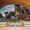 Sant'Andrea delle Fratte, jedna z lunet w krużgankach klasztornych opowiadających o historii żyjących tu zakonników
