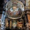 Sant'Andrea delle Fratte, ołtarz główny z dwoma aniołami Gian Lorenzo Berniniego