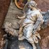Sant'Andrea delle Fratte, pomnik nagrobny kardynała Carla Leopolda Calcagniniego, Pietro Bracci, fragment