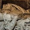 Sant'Andrea delle Fratte, posąg św. Anny, Gian Battista Maini, fragment