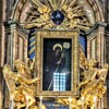 Sant'Andrea delle Fratte, widok ołtarza w kaplicy San Francesco di Paola, Pietro Bracci