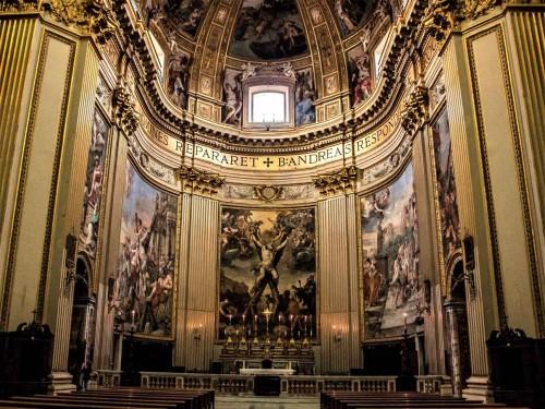 Apse of the Church of Sant'Andrea della Valle