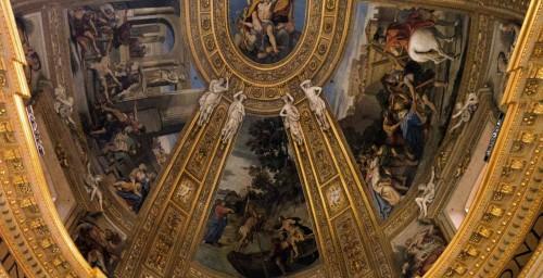 Absyda kościoła Sant'Andrea della Valle, Domenichino