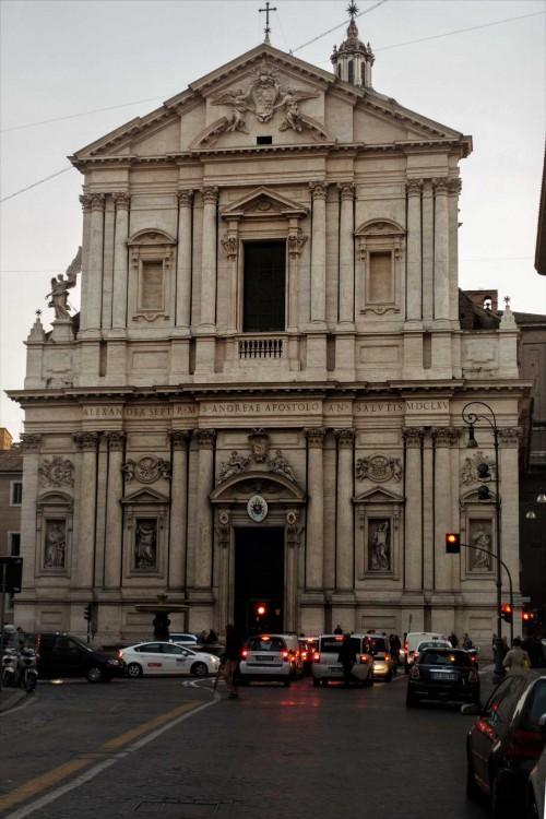 Façade of Church of Sant'Andrea della Valle