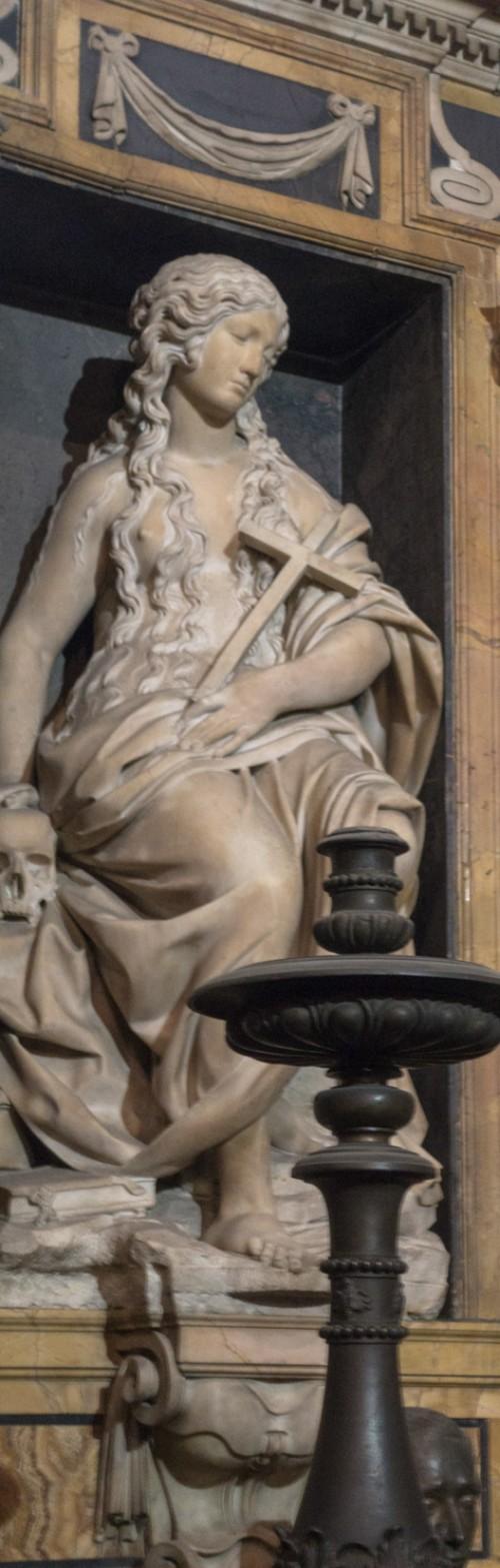 Sant'Andrea della Valle, Barberini Chapel, statue of Mary Magdalene