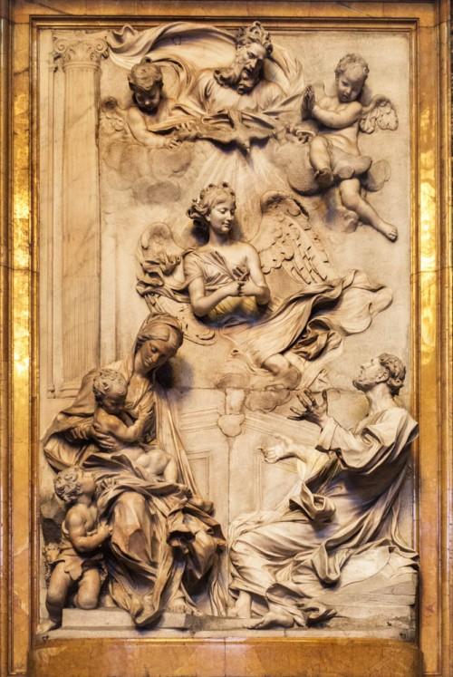 Basilica of Sant'Andrea della Valle, Ginnetti Chapel, main altar, Antonio Raggi