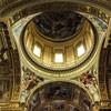 Basilica of Sant'Andrea della Valle, Domenichino – frescoes at the top of the apse