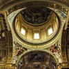 Sant'Andrea della Valle, Domenichino - freski w zwieńczeniu absydy