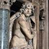 Sant'Andrea della Valle, kaplica Barberinich, posąg Jana Chrzciciela