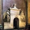 Basilica of Sant'Andrea della Valle, Crescenzi Chapel – sarcophagus of Countess Tomati de Robilant, XIX century