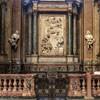 Sant'Andrea della Valle, Ginnetti Chapel, in the central part a marble relief Antonio Raggi