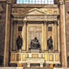 Sant'Andrea della Valle, Strozzi Chapel – copy of the Pieta as well as the statues of Rachel and Lea by Michelangelo