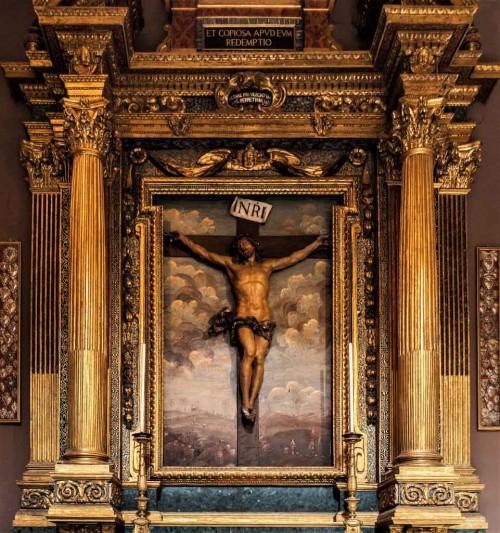 Basilica of San Carlo al Corso, Christ Crucified, Francesco Cavallini