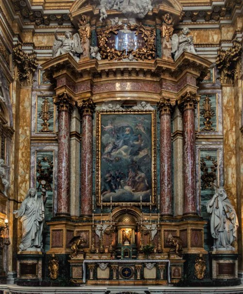 Basilica of San Carlo al Corso, Chapel of the Blessed Sacrament