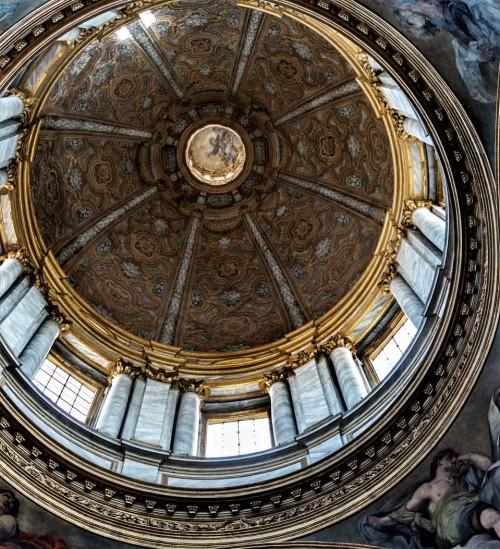Basilica of San Carlo al Corso, dome according to the design of Pietro da Cortona