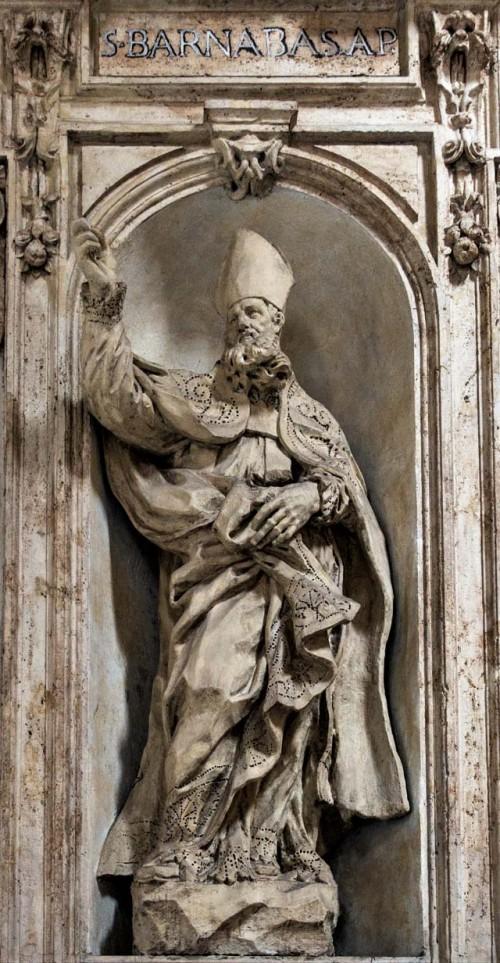 Basilica of San Carlo al Corso, St. Barnabas, Francesco Cavallini