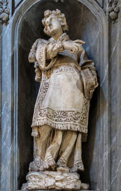 Basilica of San Carlo al Corso, St. Stephen in the church ambulatory, Francesco Cavallini