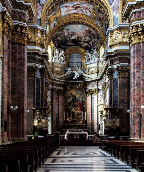 Basilica of San Carlo al Corso, interior