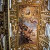 San Carlo al Corso, fresk sklepienia - Upadek zbuntowanych aniołów, Giacinto Brandi