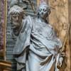 Basilica of San Carlo al Corso, Altar of the Immaculate Conception, transept, statue of Judith, Pietro Pacilli