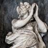 Basilica of San Carlo al Corso, statue of St. John the Baptist in the church ambulatory, Francesco Cavallini