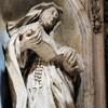Basilica of San Carlo al Corso, statue of St. Marcellina, Francesco Cavallini