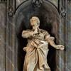 Basilica of San Carlo al Corso, St. Thecla in the church ambulatory, Francesco Cavallini