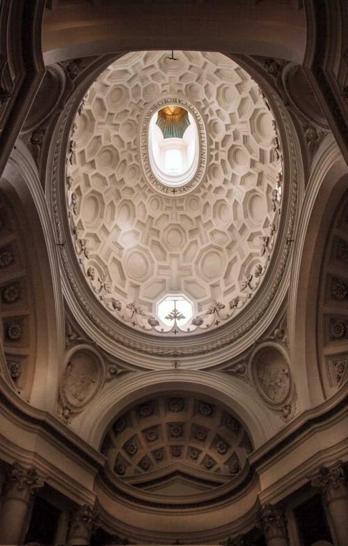 San Carlo alle Quattro Fontane, kopuła