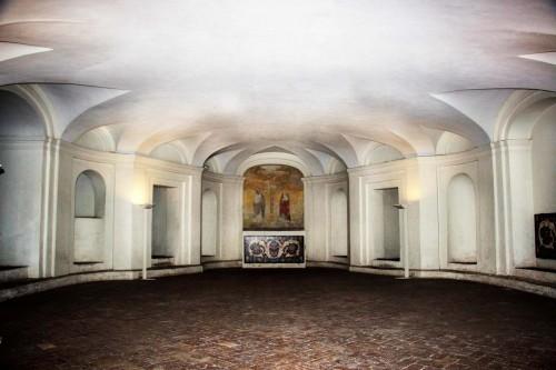 San Carlo alle Quattro Fontane, podziemna krypta