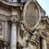 San Carlo alle Quattro Fontane, główne wejście do kościoła