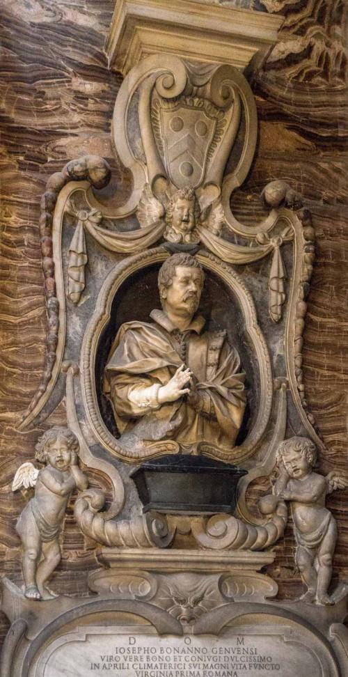 Santa Caterina da Siena a Magnanapoli, kaplica rodu Bonnani, Giuseppe Bonnani, Giuliano Finelli, 1648 r.