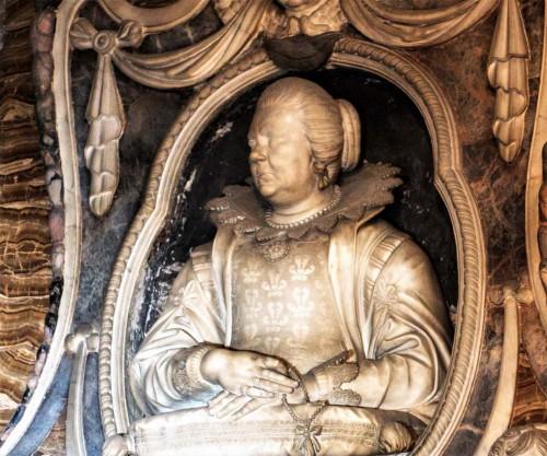 Santa Caterina da Siena a Magnanapoli, kaplica rodu Bonnani, Virginia Bonanni, Giuliano Finelli