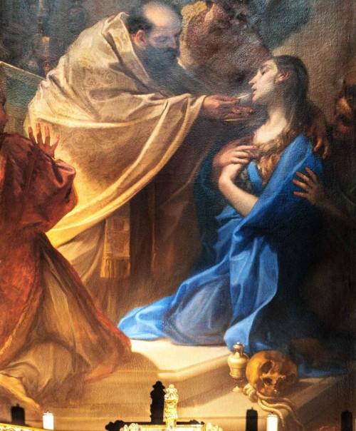 Santa Caterina da Siena a Magnanapoli, Komunia św. Marii Magdaleny, Benedetto Luti