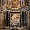 Santa Caterina da Siena a Magnanapoli, ołtarz główny, Ekstaza św. Katarzyny, Melchiorre Caffa