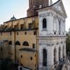 Santa Caterina da Siena a Magnanapoli, widok z tarasu villi Aldobrandini