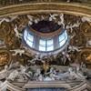 Santa Caterina da Siena a Magnanapoli, zwieńczenie ołtarza głównego