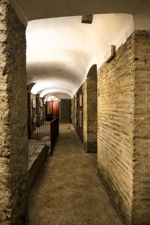 Podziemia bazyliki Santa Cecilia