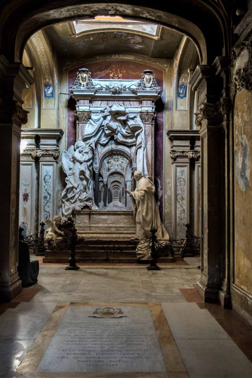 Santa Cecilia, kaplica z nagrobkiem kardynała Mariano Rampolli del Tindaro