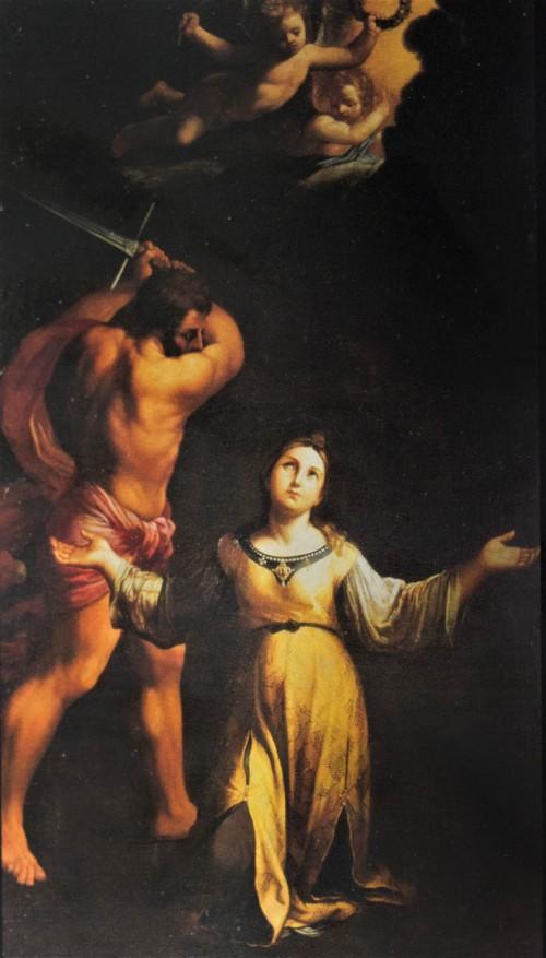 Basilica of Santa Cecilia, The Martyrdom of St. Cecilia, Guido Reni