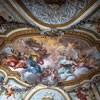 Basilica of Santa Cecilia, Chapel of Relics, vault painting, Luigi Vanvitelli