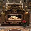 Basilica of Santa Cecilia, lying figure of St. Cecilia, Stefano Maderno